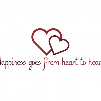 Happiness goes from heart to heart 2013